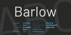 Barlow fonte